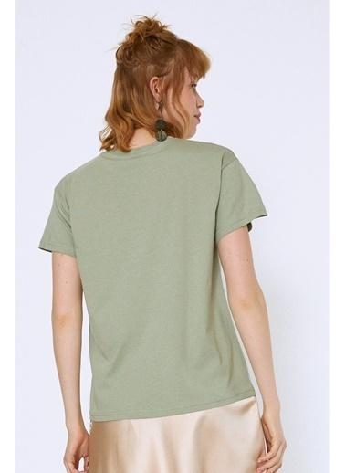 Quzu Quzu Mint T-Shirt Yeşil